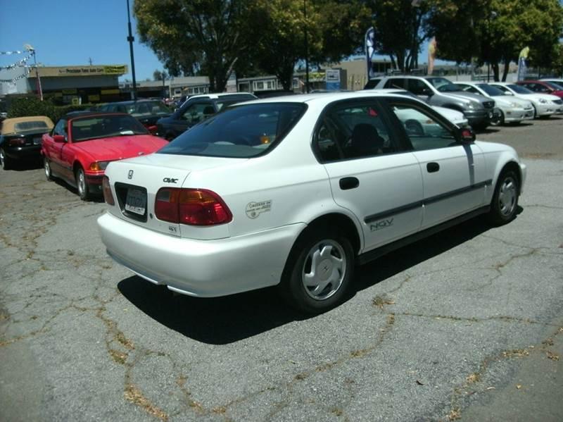1999 honda civic gx 4 door in fremont ca perfect auto sales for Honda civic gx
