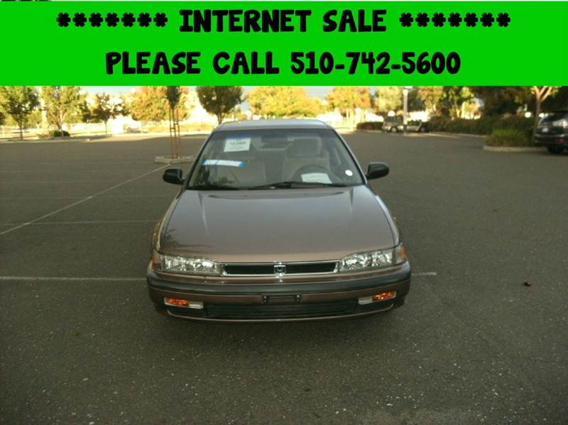 1990 honda accord lx 4dr sedan in fremont ca perfect for Honda fremont auto mall