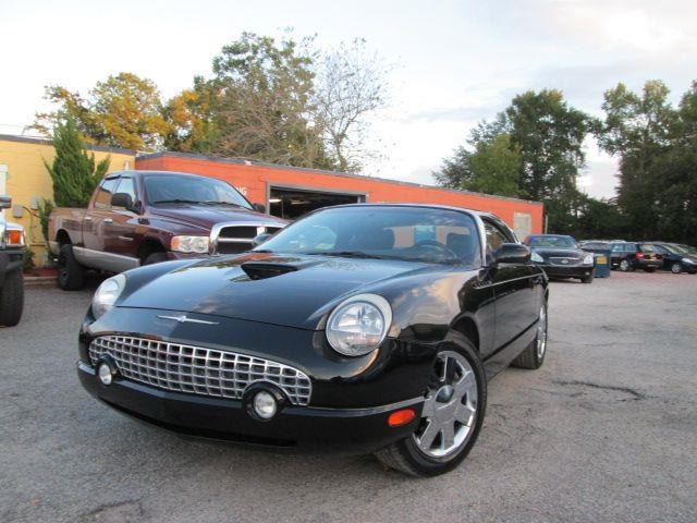 2002 ford thunderbird used cars for sale autos weblog. Black Bedroom Furniture Sets. Home Design Ideas