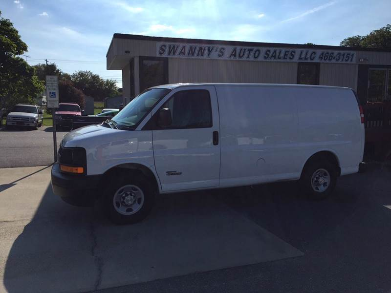 2006 chevrolet express cargo 3500 3dr van in newton nc swanny 39 s auto sales. Black Bedroom Furniture Sets. Home Design Ideas