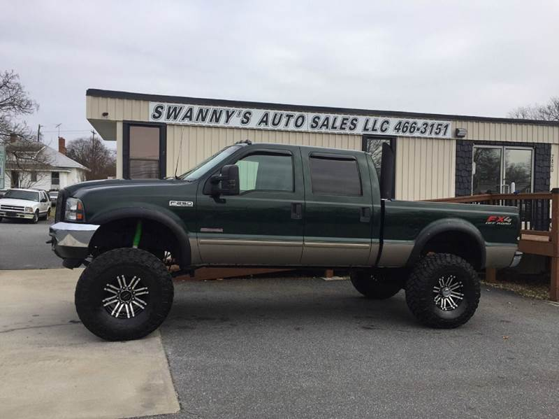 2003 ford f 250 super duty king ranch 4dr crew cab 4wd sb in newton nc swanny 39 s auto sales. Black Bedroom Furniture Sets. Home Design Ideas