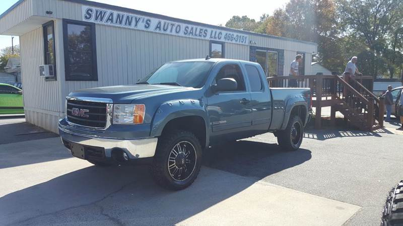 2007 Gmc Sierra 1500 Sle1 4dr Extended Cab 4wd Sb In
