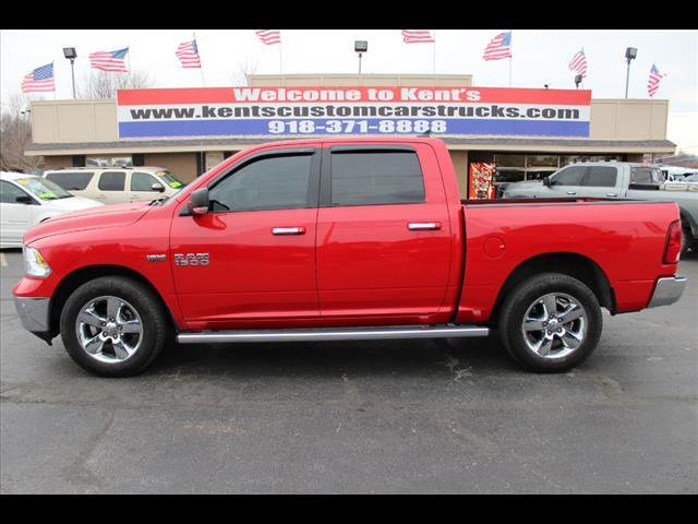 2014 ram ram pickup 1500 big horn crew cab 4wd sb in collinsville ok kents custom cars and trucks. Black Bedroom Furniture Sets. Home Design Ideas
