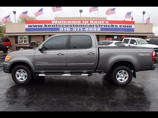2004 toyota tundra 4dr double cab limited 4wd sb v8 in collinsville ok kents custom cars and. Black Bedroom Furniture Sets. Home Design Ideas