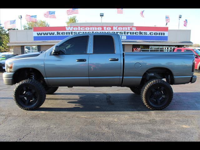 2007 dodge ram pickup 2500 slt quad cab 4wd in collinsville ok kents custom cars and trucks. Black Bedroom Furniture Sets. Home Design Ideas