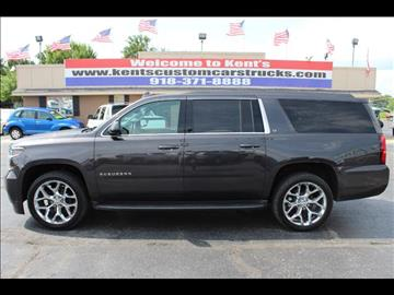 2015 Chevrolet Suburban for sale in Collinsville, OK