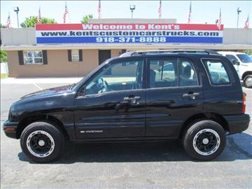 2002 Chevrolet Tracker for sale in Collinsville, OK