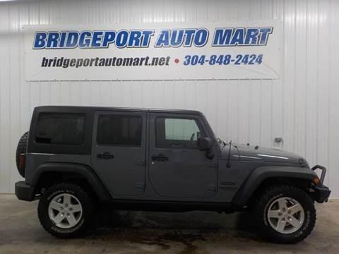 2014 Jeep Wrangler Unlimited for sale in Bridgeport, WV