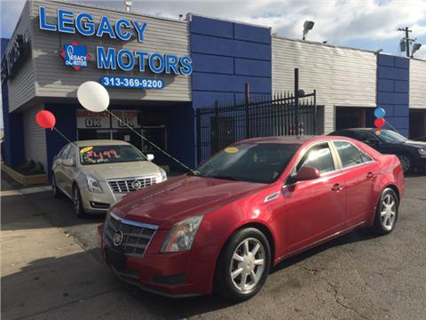 Legacy Motors Used Cars Detroit Mi Dealer