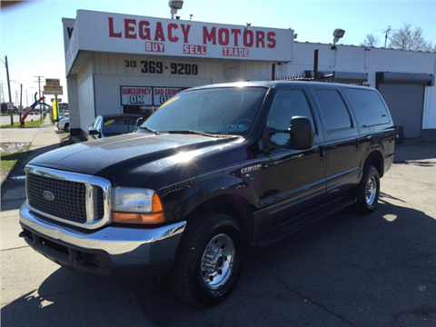 Ford excursion for sale michigan for Voice motors kalkaska michigan