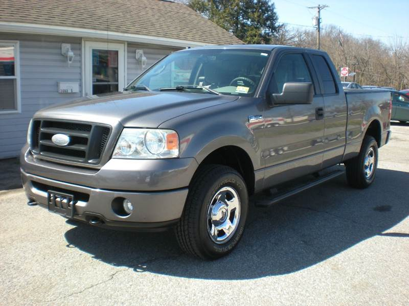 2007 ford f 150 stx 4dr supercab 4wd styleside 6 5 ft sb in maple shade nj sud weist autos. Black Bedroom Furniture Sets. Home Design Ideas