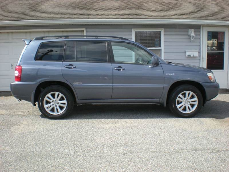 2006 toyota highlander hybrid limited awd 4dr suv in maple shade nj sud weist autos. Black Bedroom Furniture Sets. Home Design Ideas