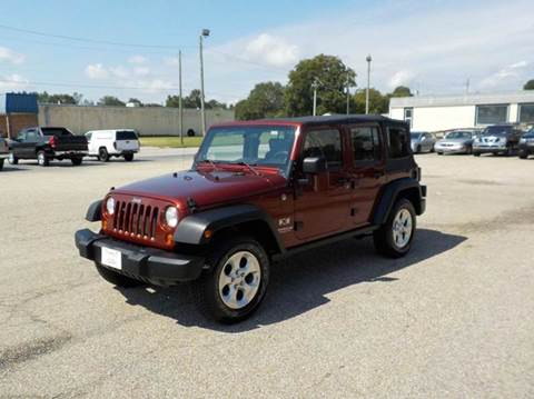 2007 Jeep Wrangler Unlimited for sale in Benson, NC
