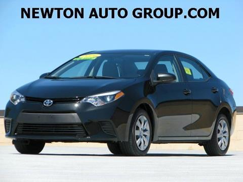 2015 Toyota Corolla for sale in West Newton, MA