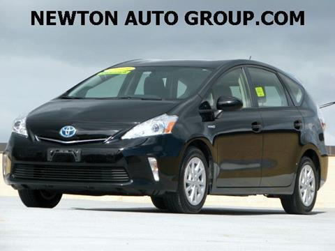 2013 Toyota Prius v for sale in West Newton MA
