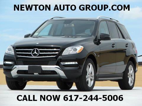 2012 Mercedes-Benz M-Class for sale in West Newton, MA