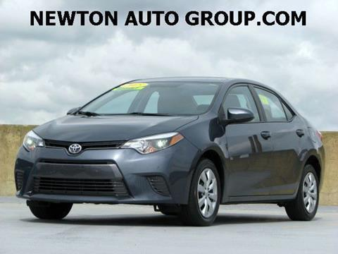 2016 Toyota Corolla for sale in West Newton, MA