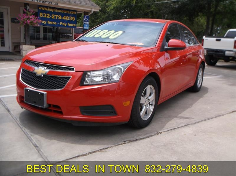 2014 Chevrolet Cruze For Sale In Sealy Tx