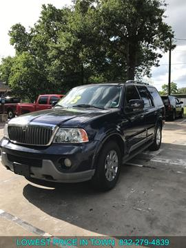 2004 Lincoln Navigator for sale in Sealy, TX