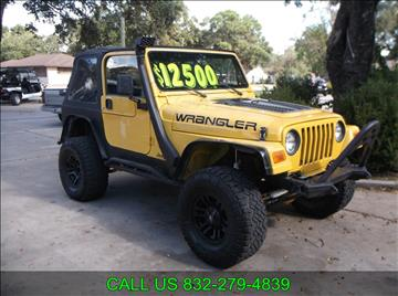2005 Jeep Wrangler for sale in Sealy, TX