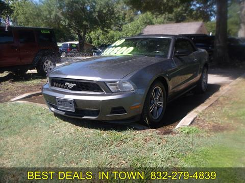 2010 Ford Mustang for sale in Sealy, TX