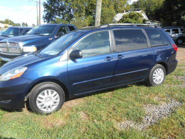 Used 2006 Toyota Sienna In Hudson Nc At Granite Motor Co