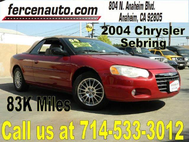 2004 Chrysler Sebring for sale in Anaheim CA