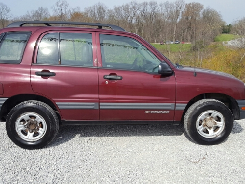 2003 Chevrolet Tracker for sale in Woodsfield, OH