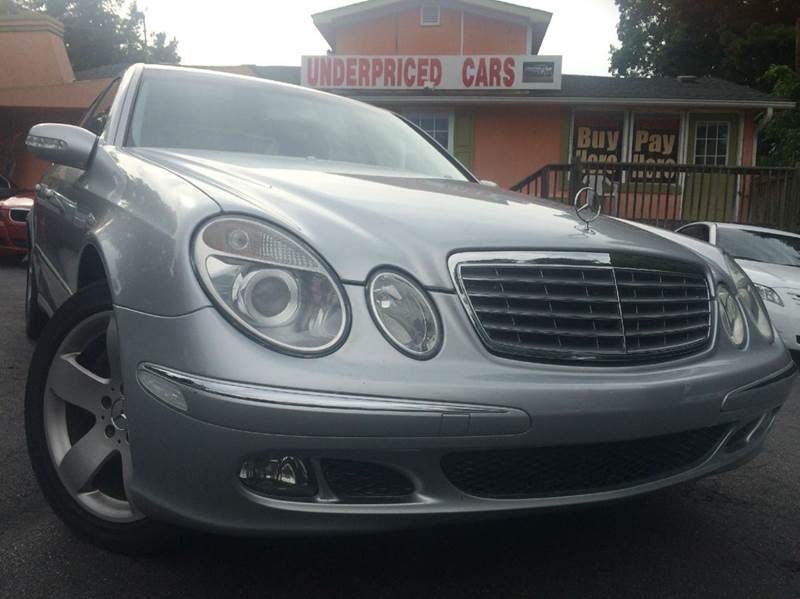 2006 mercedes benz e class e500 4matic awd 4dr sedan in for Mercedes benz marietta ga