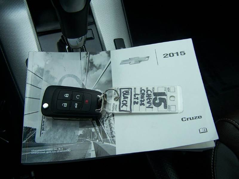 2015 Chevrolet Cruze LTZ Auto 4dr Sedan w/1SJ - Estherville IA