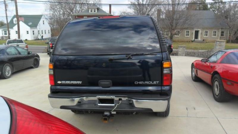 2005 Chevrolet Suburban 1500 4WD - Winchester KY