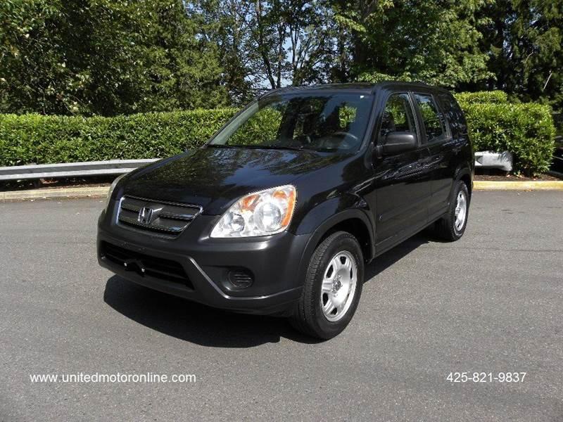 2005 Honda CR V LX 4dr SUV   Kirkland WA