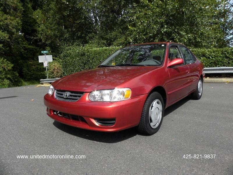 2001 Toyota Corolla CE 4dr Sedan   Kirkland WA
