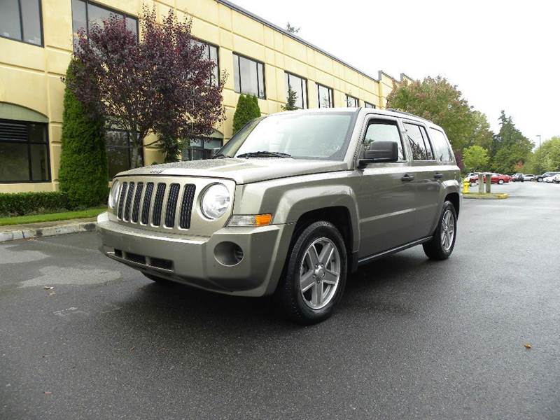 2007 jeep patriot sport 4x4 4dr suv in kirkland wa. Black Bedroom Furniture Sets. Home Design Ideas