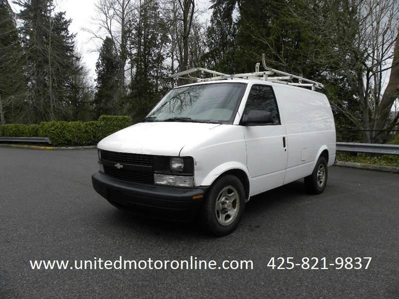 2004 Chevrolet Astro Cargo Base 3dr Extended Cargo Mini