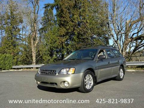 2002 Subaru Outback for sale in Kirkland, WA