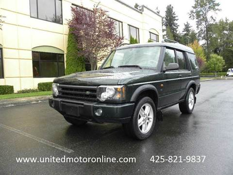 2003 Land Rover Discovery for sale in Kirkland, WA