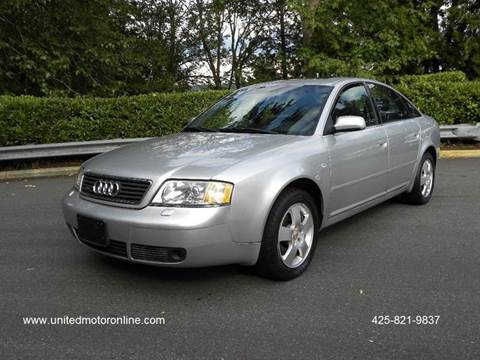 Audi A For Sale Carsforsalecom - 2001 audi