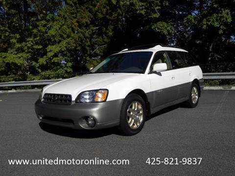 2000 Subaru Outback for sale in Kirkland, WA