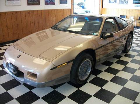 1986 Pontiac Fiero for sale in Farmington, MI