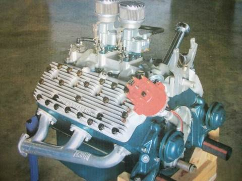 1953 OFFENHAUSER engine