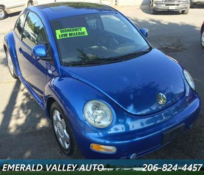 2000 Volkswagen New Beetle for sale in Des Moines, WA
