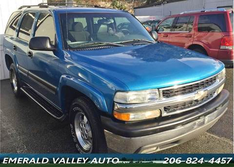 2004 Chevrolet Tahoe for sale in Des Moines, WA