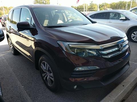 2017 Honda Pilot For Sale In Pennsylvania Carsforsale Com