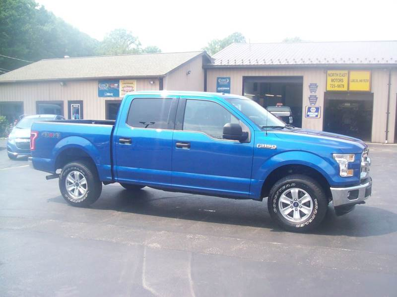2015 Ford F-150 4x4 XLT 4dr SuperCrew 5.5 ft. SB - North East PA
