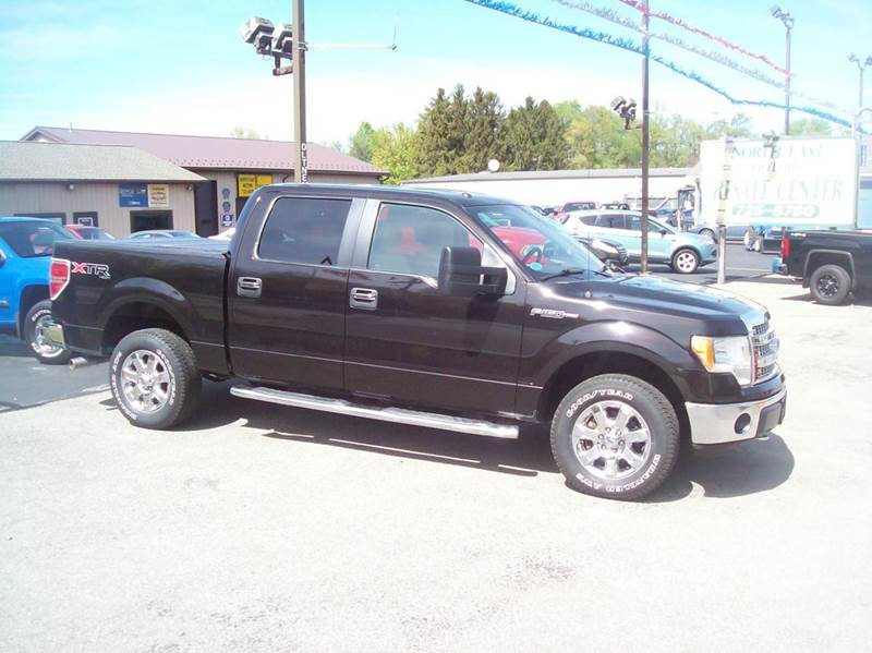 2013 Ford F-150 4x4 XLT 4dr SuperCrew Styleside 5.5 ft. SB - North East PA