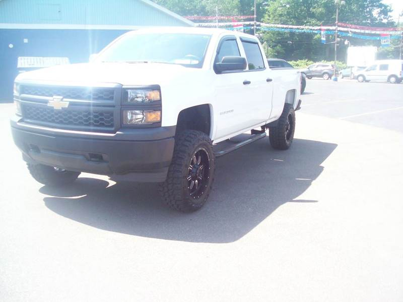 2015 Chevrolet Silverado 1500 4x4 Work Truck 4dr Crew Cab 6.5 ft. SB - North East PA