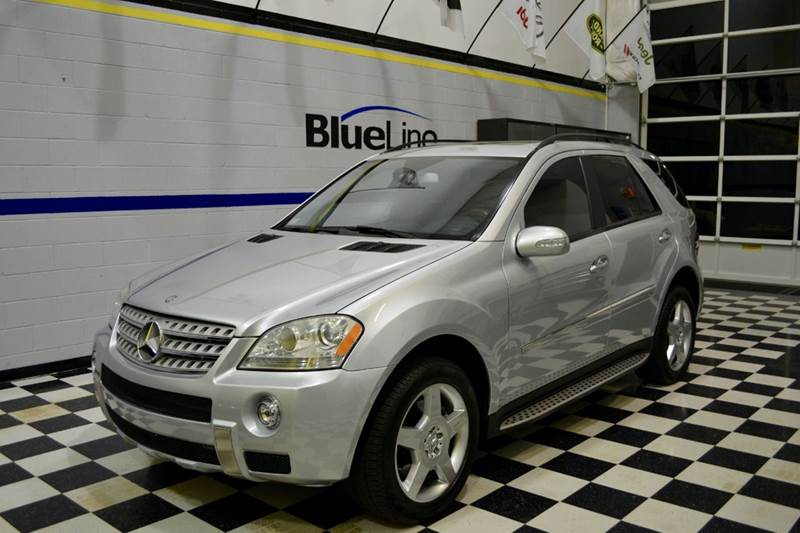 2008 mercedes benz m class ml550 awd 4matic 4dr suv in for Chantilly mercedes benz