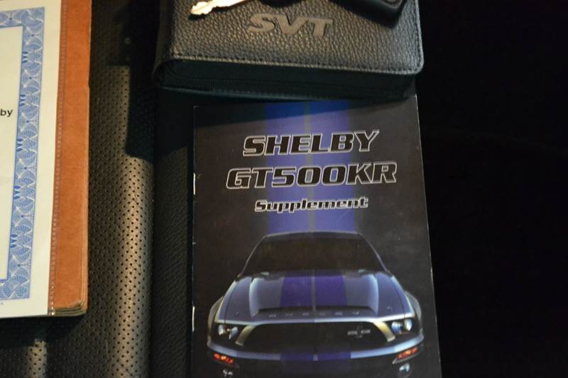 2009 Ford Shelby GT500 GT500KR - Chantilly, Va VA