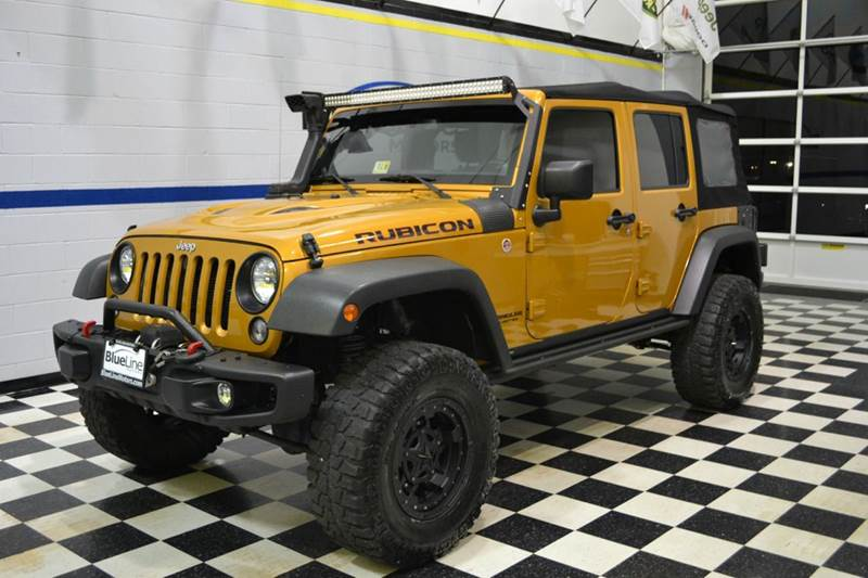 2014 Jeep Wrangler Unlimited Rubicon X 4x4 4dr SUV   Chantilly, Va VA